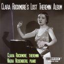 Pochette Clara Rockmore's Lost Theremin Album