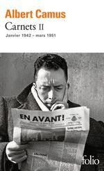 Couverture Carnets, tome II : Janvier 1942 - mars 1951