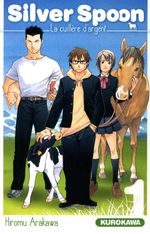 Couverture Silver Spoon, tome 1