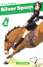 Couverture Silver Spoon, tome 2