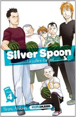 Couverture Silver Spoon, tome 4