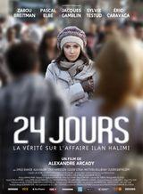 Affiche 24 jours, la vérité sur l'affaire Ilan Halimi