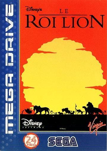 """Résultat de recherche d'images pour """"le roi lion megadrive cover"""""""