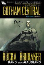 Couverture Corrigan - Gotham Central, Vol. 4