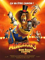 Affiche Madagascar 3 : Bons Baisers d'Europe