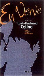 Couverture En Verve / Louis-Ferdinand Céline