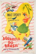 Affiche Aquarelle du Brésil