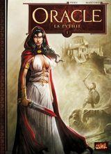 Couverture La Pythie - Oracle, tome 1