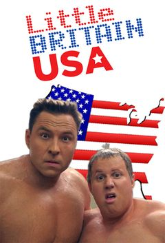 Affiche Little Britain USA
