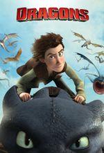 Affiche Dragons : Cavaliers de Beurk