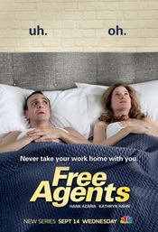 Affiche Free Agents (US)