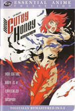 Affiche Cutey Honey - La Guerrière de l'Amour