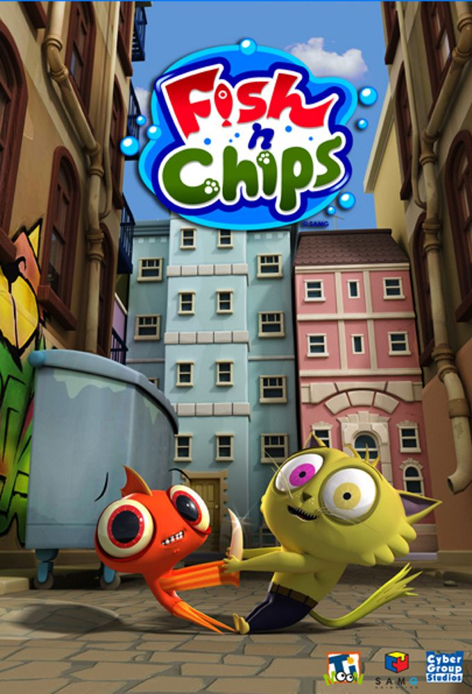 Fish n chips dessin animé wikipedia