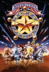 Affiche Les aventures des Galaxy Rangers
