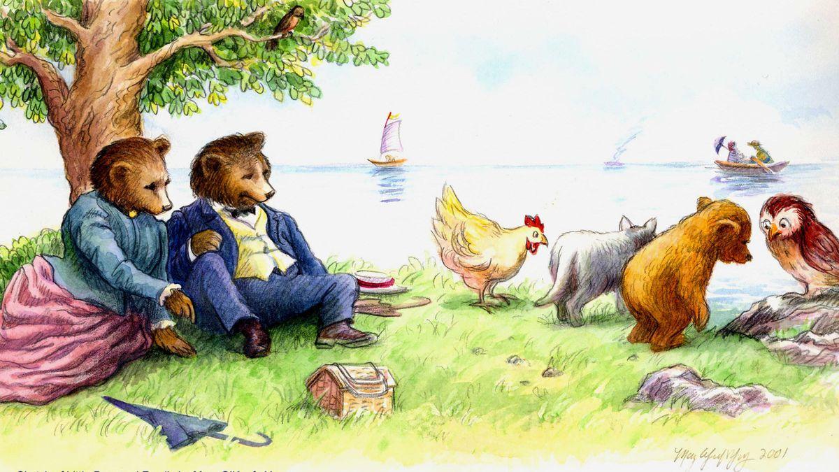 Petit ours dessin anim 1995 senscritique - Petit ours dessin anime ...