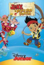 Affiche Jake et les pirates du pays imaginaire