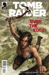 Couverture Over The Edge ! - Tomb Raider #2