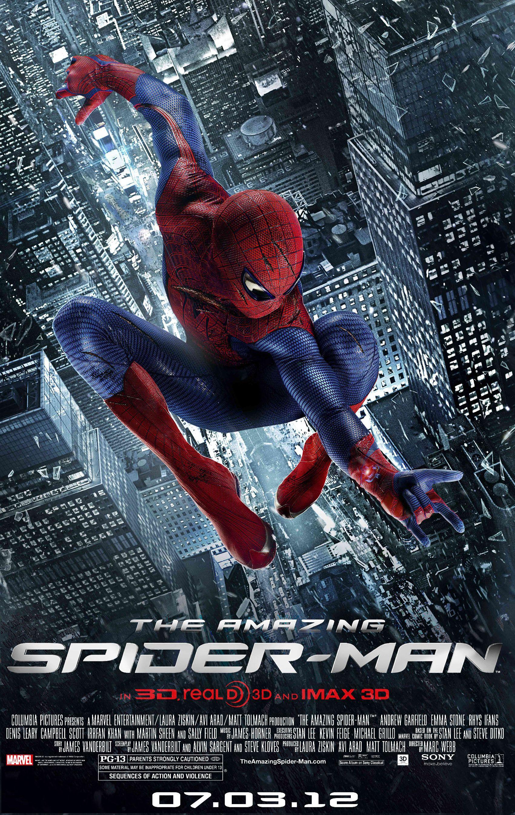 Affiches posters et images de the amazing spider man 2012 - Et spider man ...