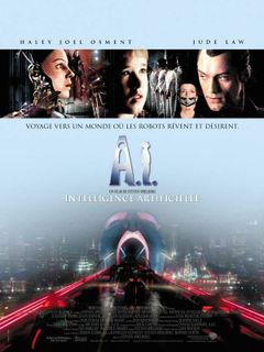 Affiche A.I. Intelligence Artificielle