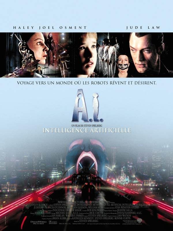 Grand Affiche A.I. Intelligence Artificielle