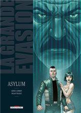 Couverture Asylum - La Grande Évasion, tome 7
