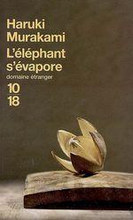 Couverture L'Éléphant s'évapore