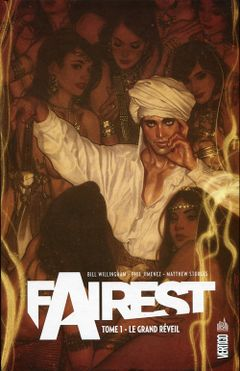 Couverture Le Grand Réveil - Fairest, tome 1