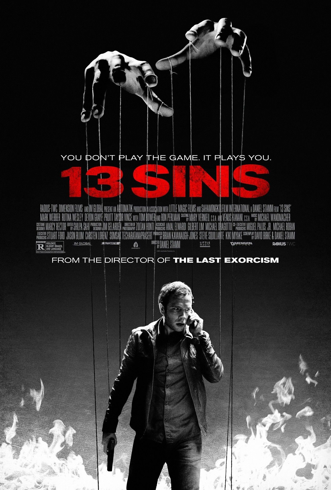 13 sins film 2014 senscritique for Le nombre 13 film