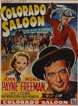 Affiche Colorado Saloon
