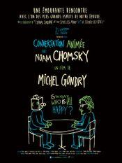 Affiche Conversation animée avec Noam Chomsky