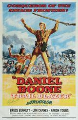Affiche Daniel Boone, l'invincible trappeur