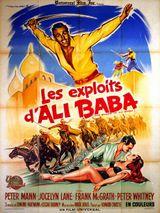 Affiche Les Exploits d'Ali Baba