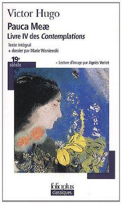 Couverture Pauca Meae - Livre IV des Contemplations