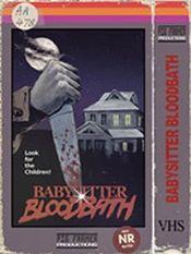 Jaquette Babysitter Bloodbath