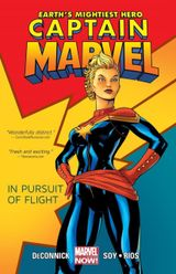 Couverture In Pursuit of Flight - Captain Marvel (2012), tome 1