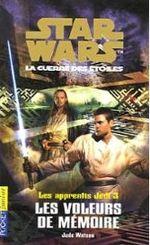 Couverture Les Voleurs de mémoire - Les Apprentis Jedi, tome 3