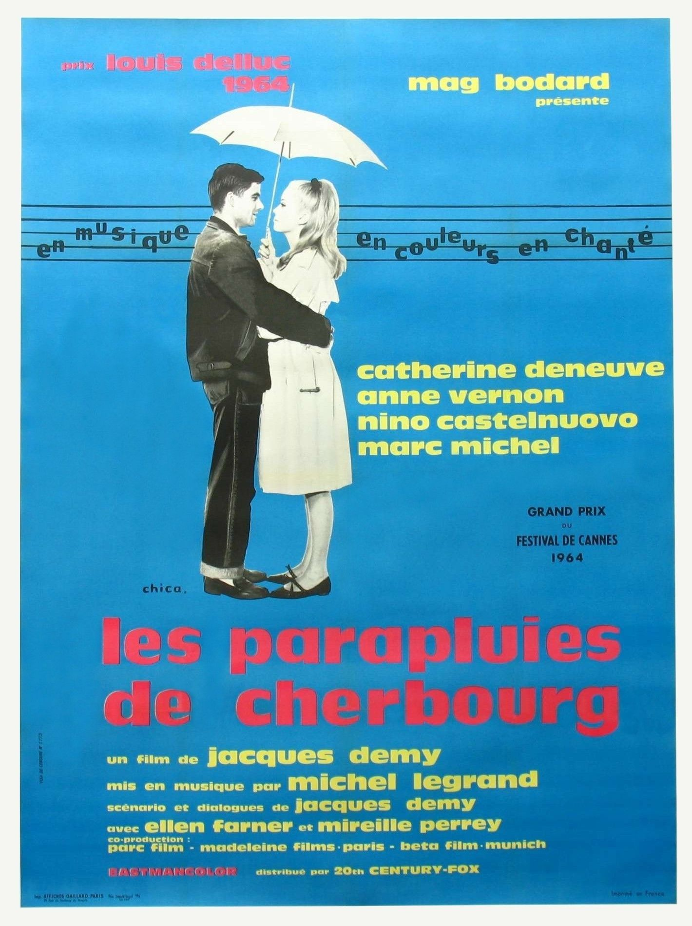 Jacques Demy Umbrellas Of Cherbourg 1963 The Umbrellas Of