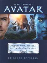 Couverture Avatar : Rapport confidentiel sur l'histoire biologique et sociale de la planète Pandora