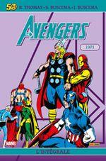 Couverture 1971 - The Avengers : L'Intégrale, tome 8