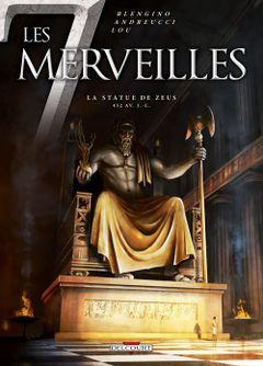 Couverture La Statue de Zeus - Les 7 Merveilles, tome 1