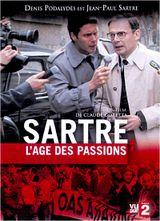 Affiche Sartre, l'âge des passions