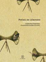 Couverture Poésie du gérondif