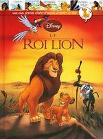 Couverture Le Roi lion -  Les plus grands chefs-d'œuvre Disney en BD, tome 2