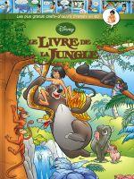Couverture Le Livre de la jungle - Les plus grands chefs-d'œuvre Disney en BD, tome 4