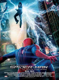 Affiche The Amazing Spider-Man : Le Destin d'un héros