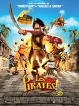 Affiche Les Pirates ! Bons à rien, mauvais en tout