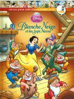 Couverture Blanche Neige et les Sept Nains - Les plus grands chefs-d'œuvre Disney en BD, tome 15