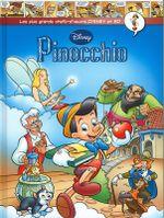 Couverture Pinocchio - Les plus grands chefs-d'œuvre Disney en BD, tome 18