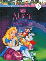 Couverture Alice au pays des merveilles - Les plus grands chefs-d'œuvre Disney en BD, tome 23