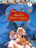 Couverture Aladdin : Le Retour de Jafar - Les plus grands chefs-d'œuvre Disney en BD, tome 34